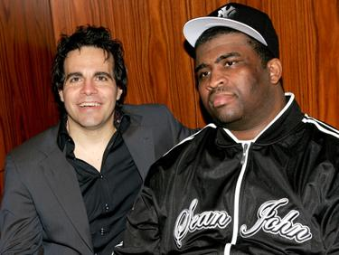 Mario Cantone and Patrice O&#39;Neal at the 2nd Annual New York Comedy Festival.